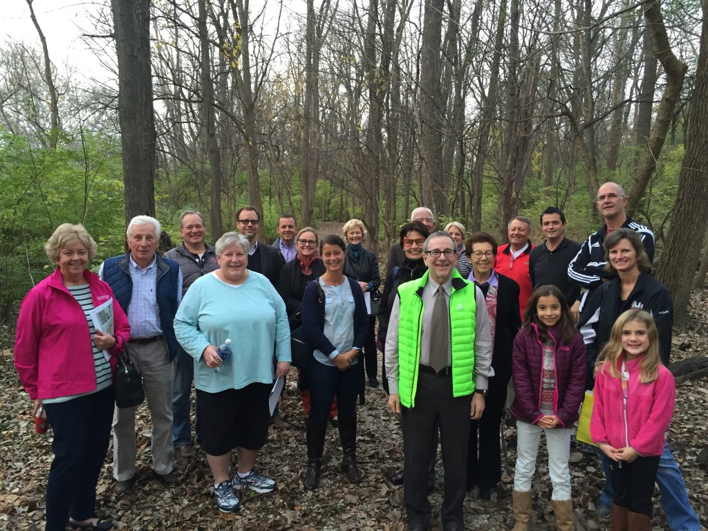 Bexley Community Foundation Board of Directors and Friends on the newly opened Alum Creek Pathway